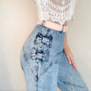 Vintage 90's high rise Acid Wash Jeans 28